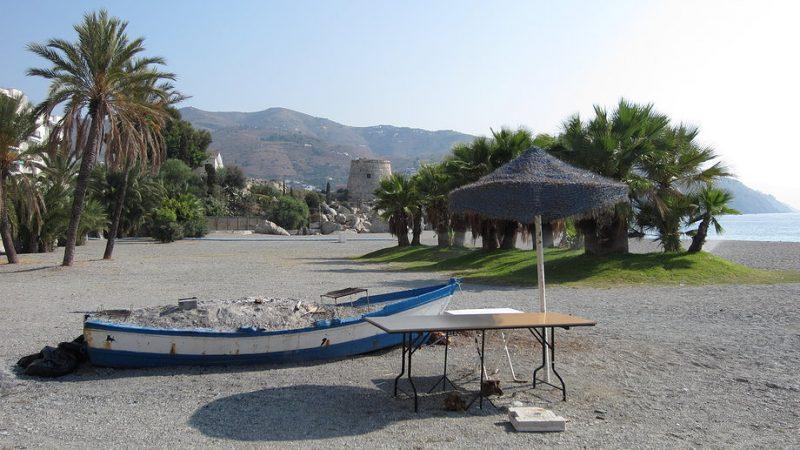 Playa Velilla en Almuñécar