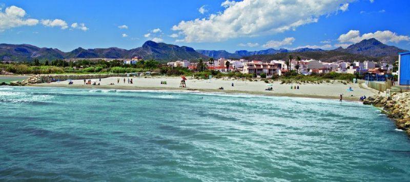 Playa Venecia en Gandia