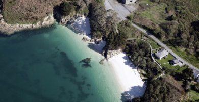 Playa Vidreiro en O Vicedo