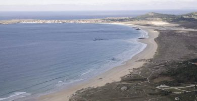 Playa Vilar en Ribeira