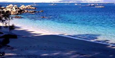 Playa Villamarín en O Grove