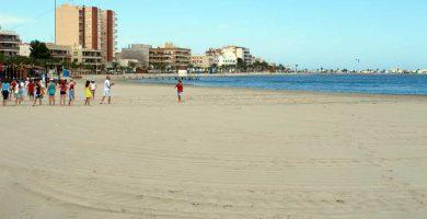 Playa Villananitos en San Pedro del Pinatar
