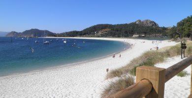 Playa Viñó en Cangas