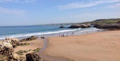 Playa Virgen del Mar en Santander