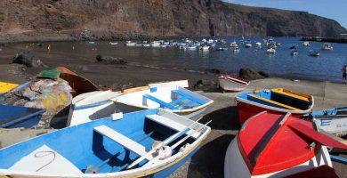 Playa Vueltas en Valle Gran Rey