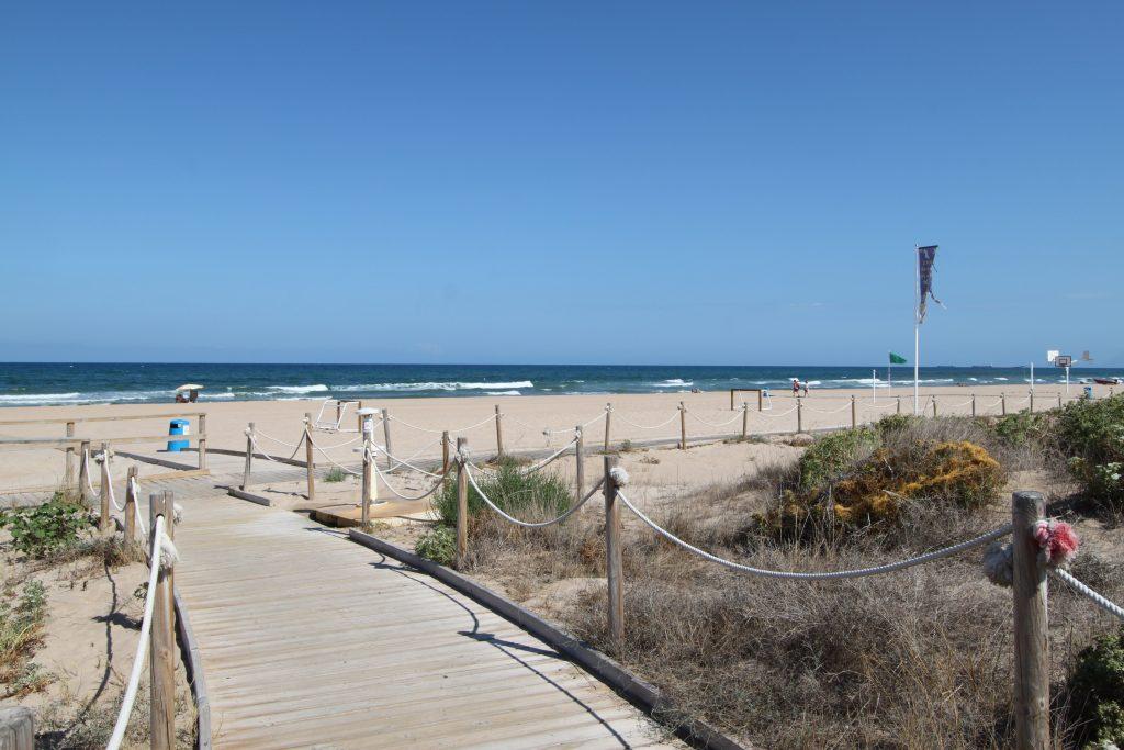 Playa Xeraco en Xeraco