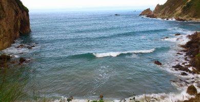 Playa Xilo en Muros de Nalón