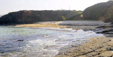 Playa Xuncos en Ribadeo