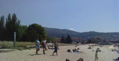 Playa Xunqueira en Moaña