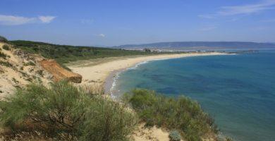 Playa Zahara de los Atunes en Barbate