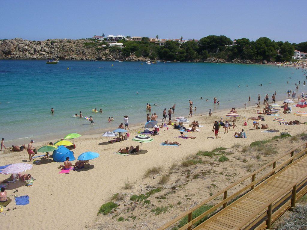 playas de Es Castell
