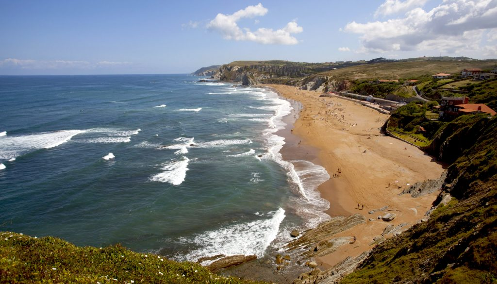 playas de Sopela