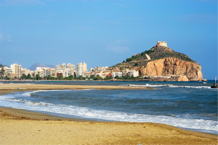 playas de aguilas