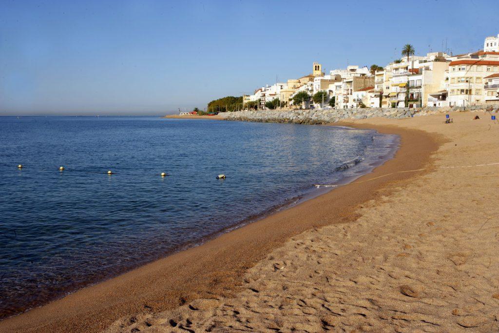 Playas de Sant Pol de Mar