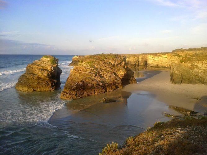 Playa de Esteiro en Ribadeo